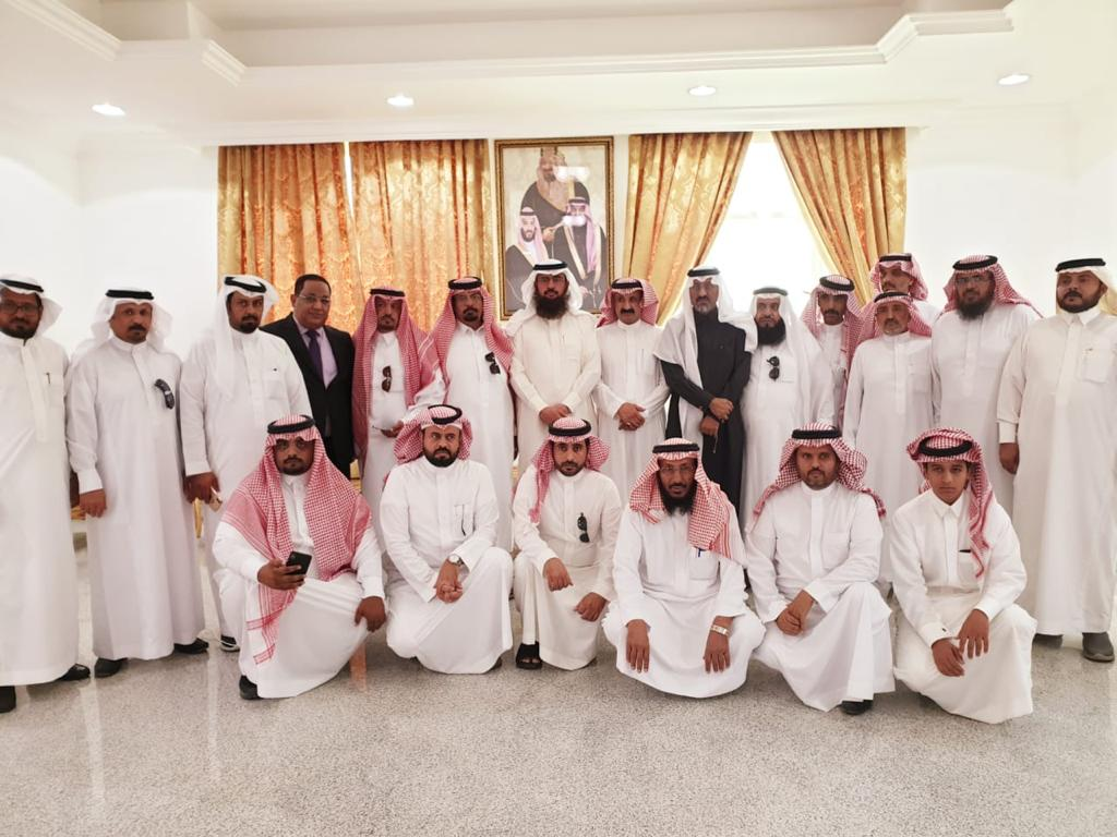 Rapport de la visite de la délégation de l'Encyclopédie internationale «Qpedia» au gouvernorat de Sarat Ubaida -1