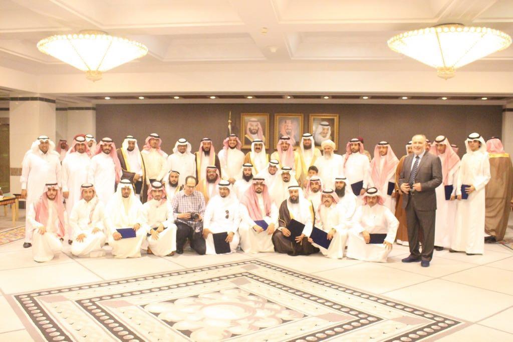 تكريم وأستضافة سمو أمير عسير لإدارة وأعضاء الموسوعة