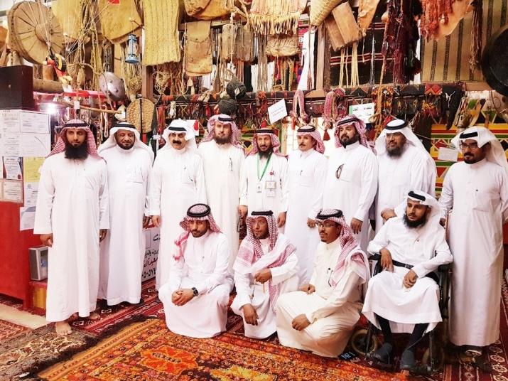 زيارة موسوعة كيوبيديا العالمية لمتحف موروث الاجداد بمحافظة خميس مشيط