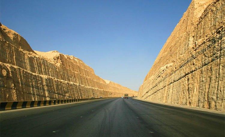 الطرق السريعة في السعودية