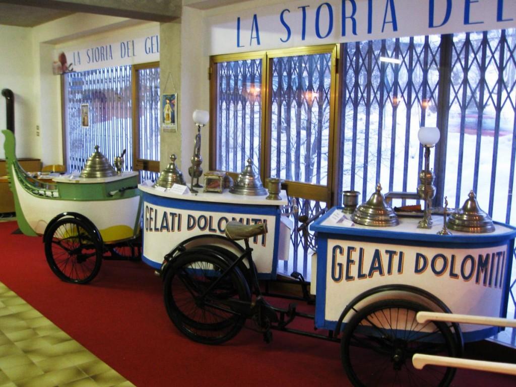 متحف الجيلاتو أو البوظة في إيطاليا