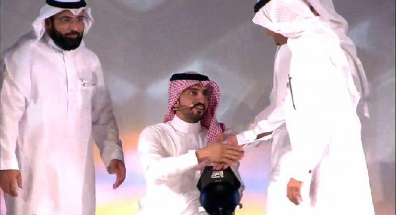 """قصة تحدي واصرار """" محمد الشريف """" الحاصل على جائزة الاصرار 1437 هـ"""