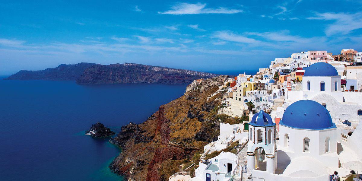 اليونان افضل الوجهات السياحية في الصيف