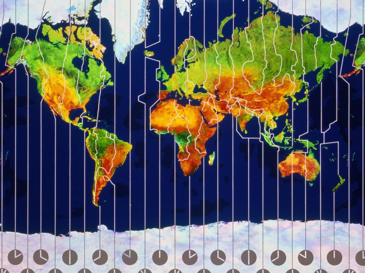 لماذا توجد في العالم 40 منطقة زمنية ؟