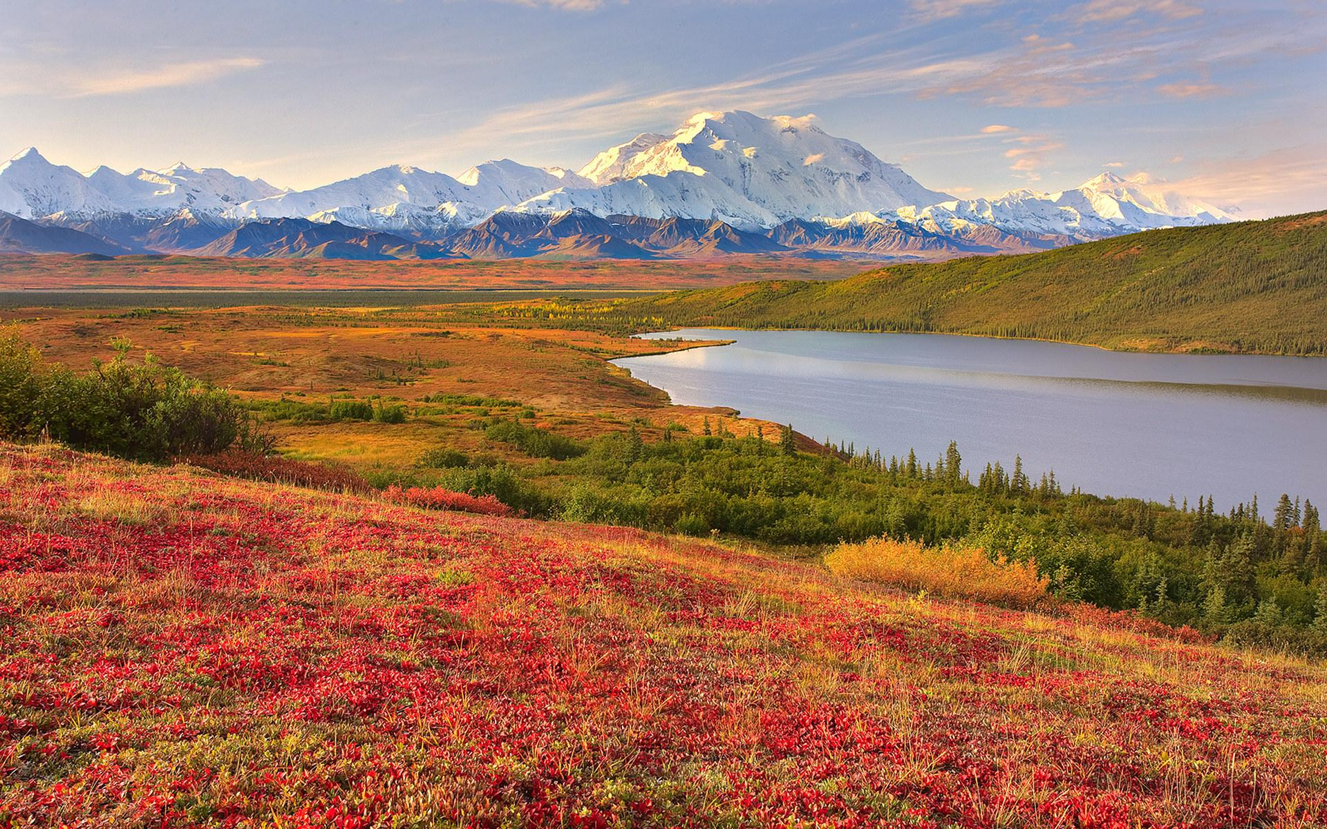 السياحة في ألاسكا بالولايات المتحدة الأمريكية