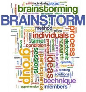 العصف الذهني Brainstorming
