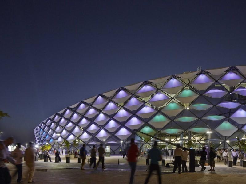 الملاعب الرياضية ذات التصميمات الهندسية الأروع في العالم
