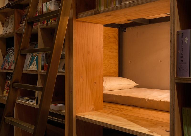 طوكيو تفتتح فندقا لعشاق القراءة و محبي الكتب