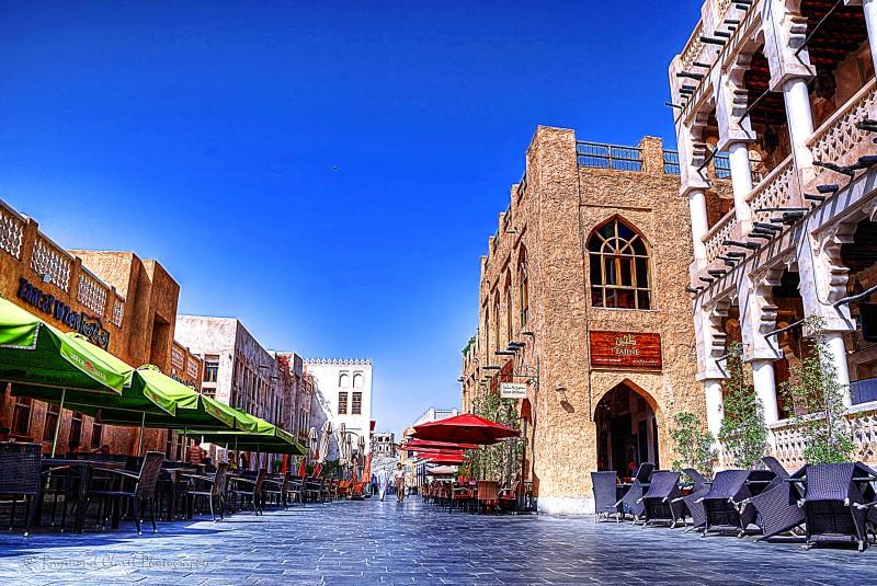سوق واقف أهم المعالم السياحية في مدينة الدوحة